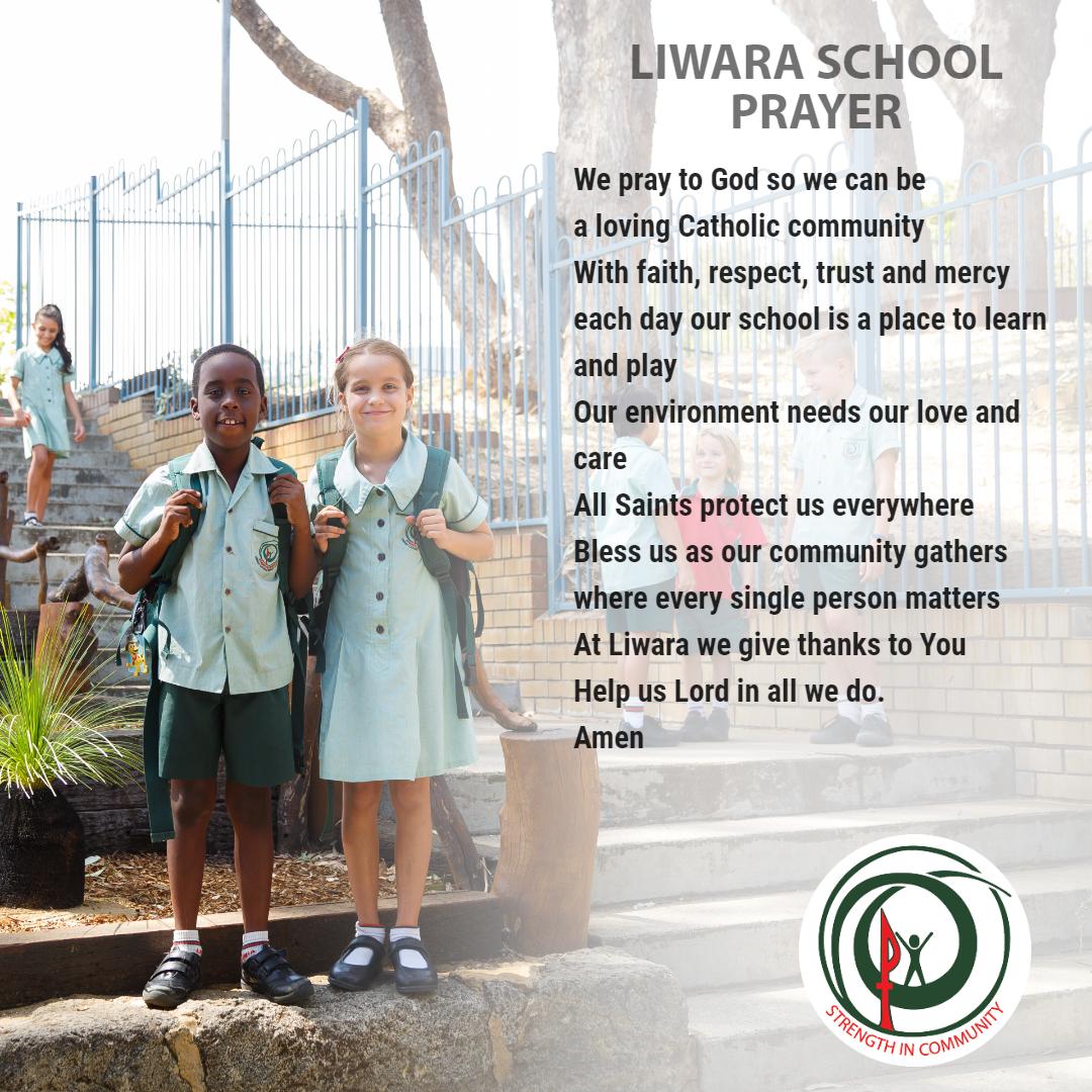 LiwaraSchool Prayer