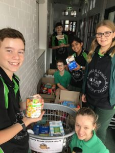 SJ Ministry -food collection