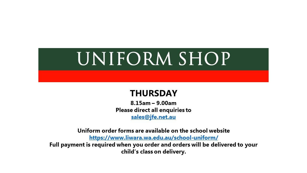 Uniform Shop